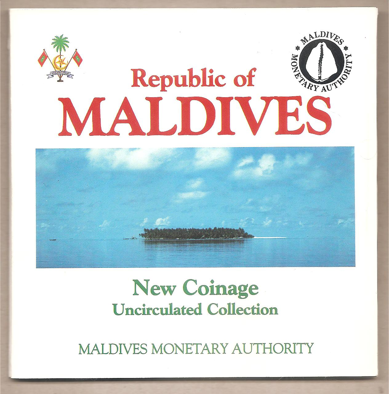 50709 - Maldive - New Coinage Uncirculated Collection Mint Set - 1984