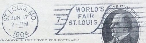 1904 St. Louis - World's Fair